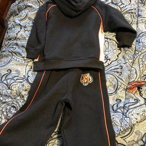 Matching Sets - Cincinnati Bengals 18 month jogging outfit 14d3d69324fe